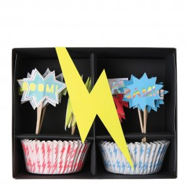 Cupcake kit super héroe