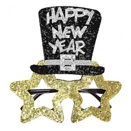 Gafas estrella Happy New Year