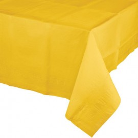 Mantel papel amarillo